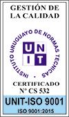 Certificado UNIT ISO 9001